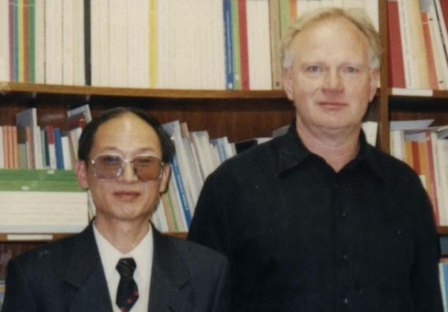 Prof. Jing Tiankui meets Prof. Beck at the University of München